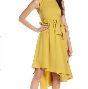CAARA Asymmetrical Hi Low Dress
